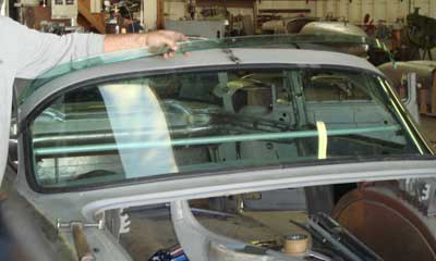 Auto Glass Custom Project Photos For Car Windshields Side